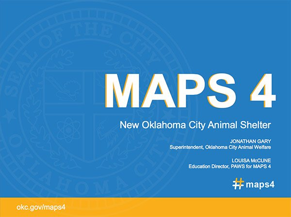 MAPS 4 new Oklahoma City animal shelter presentation