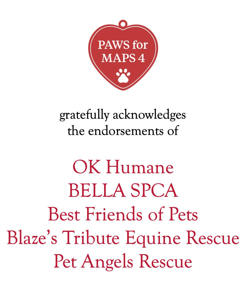 PAWS thanks the following organizations