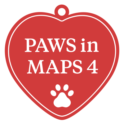 PAWS in MAPS 4 logo
